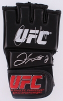 Floyd Mayweather Jr. & Conor McGregor Signed Authentic UFC Glove (Beckett COA & JSA ALOA)