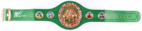 Mike Tyson Signed World Boxing Council High Quality Replica Full-Size Belt (JSA COA)