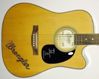 "George Strait Signed Full-Size ""Wrangler"" Copley Acoustic Guitar (JSA COA)"