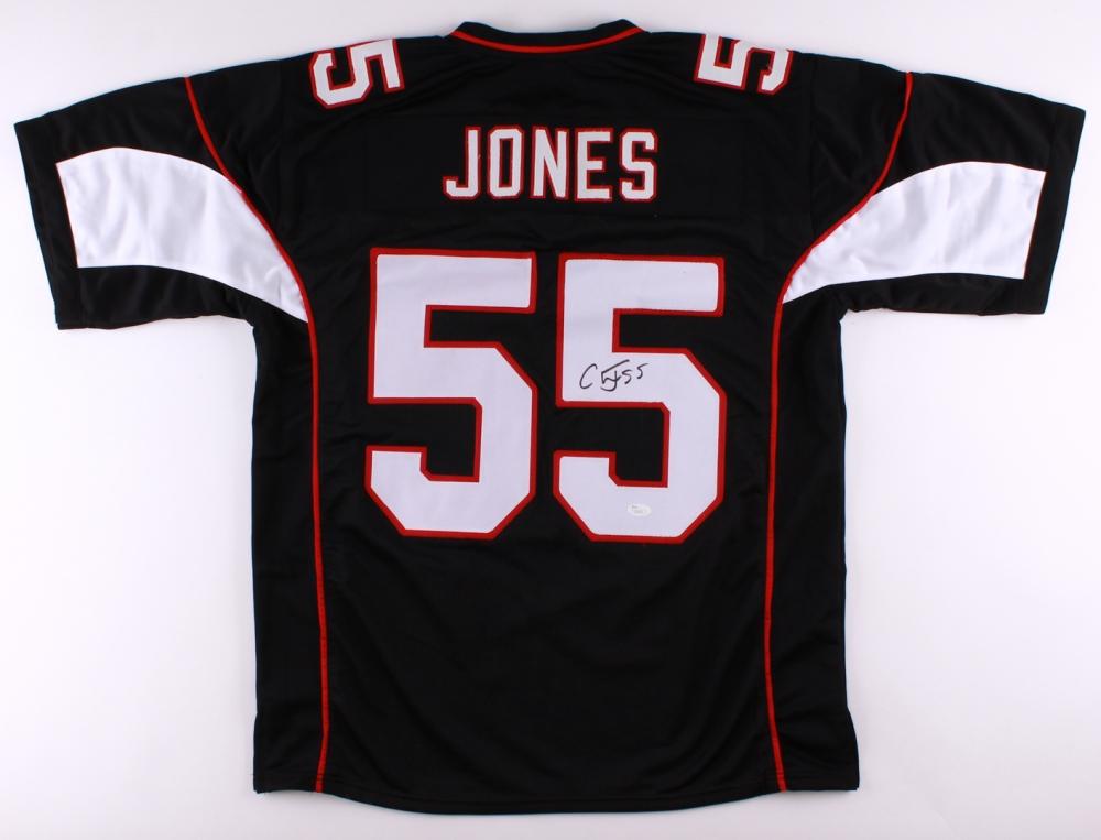 Chandler Jones Signed Cardinals Jersey (JSA COA)   Pristine Auction