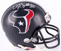 D. J. Swearinger Signed Texans Mini Helmet (JSA COA)