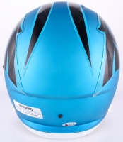 Luke Kuechly Signed Panthers Full-Size Speed Blaze Helmet (Beckett COA) at PristineAuction.com