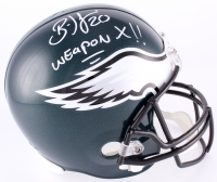 "Brian Dawkins Signed Eagles Full-Size Helmet Inscribed ""Weapon X"" (JSA COA) at PristineAuction.com"