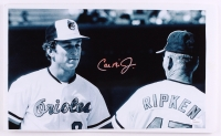 Cal Ripken Jr. Signed Orioles 10.5x17.5 Photo Cut (JSA COA) at PristineAuction.com