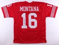 Joe Montana Signed 49ers Jersey (PSA COA)