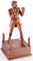 Mike Tyson Signed Trophy Figurine (JSA COA)