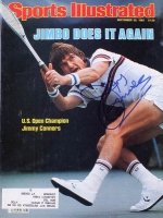 Jimmy Connors Signed 1982 Sports Illustrated Magazine (MAB Hologram) at PristineAuction.com