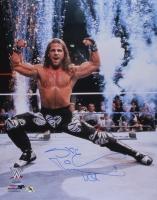 "Shawn Michaels Signed WWE 16x20 Photo Inscribed ""HBK"" (MAB Hologram)"