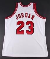 Michael Jordan Signed LE Bulls Authentic Mitchell & Ness Jersey (UDA COA) at PristineAuction.com