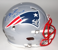 "Tom Brady Signed Patriots Full-Size Authentic On-Field Speed Helmet Inscribed ""SB 51 MVP"" (Steiner COA & Tristar Hologram)"