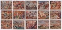 Lot of (15) 1938 Horrors of War Cards