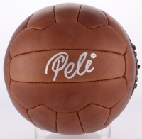 Pele Signed 1958 World Cup Final Soccer Ball (PSA COA)