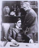 "Al Pacino Signed ""The Godfather"" 18x22 Photo on Canvas (Beckett COA)"
