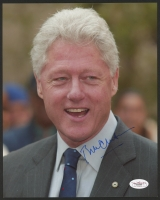 Bill Clinton Signed 8x10 Photo (JSA COA)