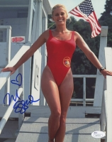 "Nicole Eggert Signed ""Baywatch"" 8x10 Photo (JSA COA)"
