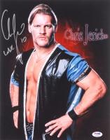 "Chris Jericho Signed 11x14 Photo Inscribed ""WWE '10"" (PSA COA)"