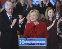 Bill Clinton & Hillary Clinton Signed 11x14 Photo with Full-Name Signature (JSA LOA)