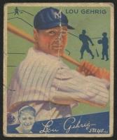 1934 Goudey #61 Lou Gehrig