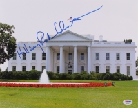 Hillary Clinton Signed 11x14 White House Photo (PSA COA)