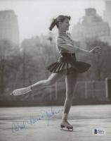 Carol Heiss Jenkins Signed 8x10 Photo (Beckett COA)