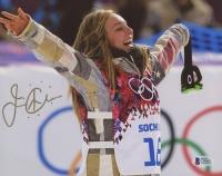 Jamie Anderson Signed Olympics 8x10 Photo (Beckett COA)