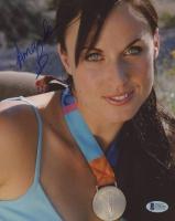 Amanda Beard Signed 8x10 Photo (Beckett COA)