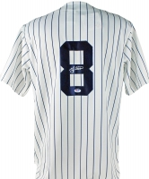 Yogi Berra Signed Yankees Jersey (PSA COA)