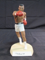 "Muhammad Ali Signed 1990 Salvino Sports Legends ""The Greatest"" Figurine (Salvino COA)"