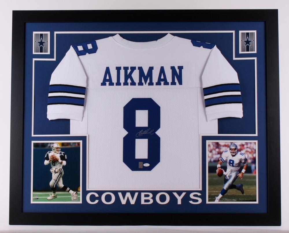 e31cb040736 Troy Aikman Signed Cowboys 35