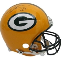 Charles Woodson Signed Packers Full-Size Authentic On-Field Helmet (JSA COA)