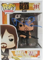"Norman Reedus Signed The Walking Dead ""Biker Daryl"" Funko Pop Figure (JSA COA)"