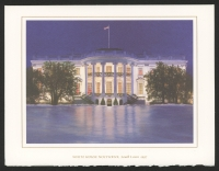 "Hillary Clinton Signed 5.5"" x 7.5"" Holiday Card With Full-Name Signature (JSA COA)"