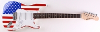 "Steven Tyler Signed Full-Size Huntington ""USA"" Electric Guitar (JSA COA)"