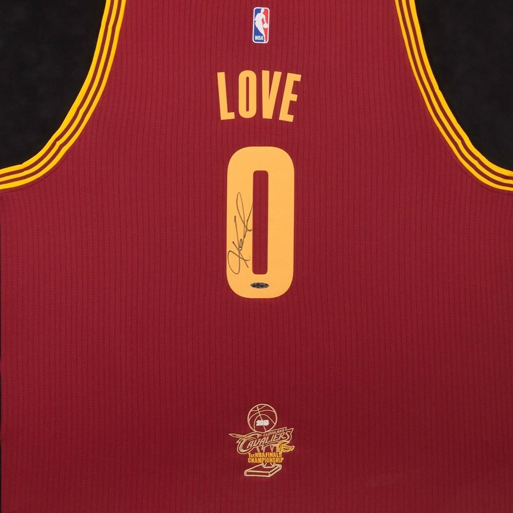 7a844e481ee117 Kevin Love Signed Cleveland Cavaliers 2016 NBA Finals 32x38 Custom Framed  Jersey (UDA Hologram)