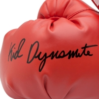 "Mike Tyson Signed Pair of Limited Edition Everlast Boxing Gloves Inscribed ""Kid Dynamite"" (UDA COA) at PristineAuction.com"