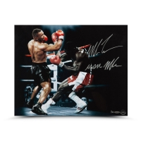 "Mike Tyson Signed ""Bullied"" 16x20 Limited Edition Photo Inscribed ""Iron Mike"" (UDA COA) at PristineAuction.com"