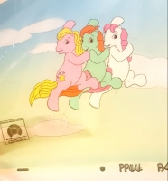 """My Little Pony"" Original Hand-Painted Animation Production Cel (My Little Pony COA)"