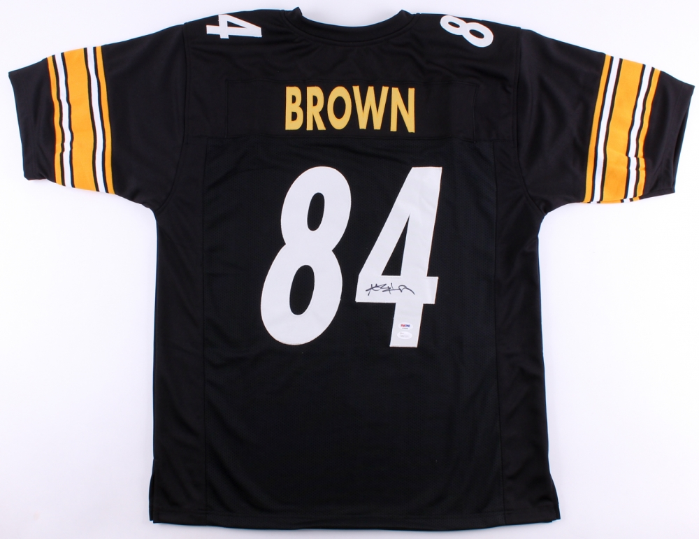 585eaef8a70 Antonio Brown Signed Steelers Jersey (JSA COA   PSA COA) at  PristineAuction.com
