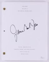 "James Earl Jones Signed ""Star Wars: Episode V - The Empire Strikes Back"" Full Movie Script (JSA COA)"