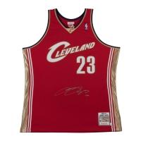 LeBron James Signed Cleveland Cavaliers Jersey (UDA COA)