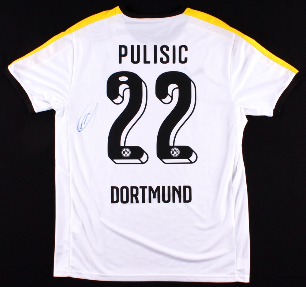 66bcef7fa Christian Pulisic Signed Borussia Dortmund Jersey (JSA COA) at  PristineAuction.com