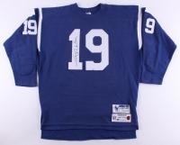 Johnny Unitas Signed Colts Jersey (JSA LOA)