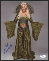 Charlotte Flair Signed 8x10 Photo (JSA COA)