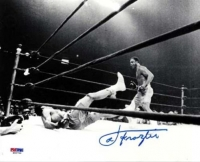 Joe Frazier Signed 8x10 Photo VS. Ali (PSA COA)