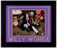 "Gene Wilder Signed ""Willy Wonka & the Chocolate Factory"" 19.5x23.5 Custom Framed Photo (PSA COA)"