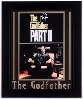 "Al Pacino Signed ""The Godfather Part II"" 19.5x23.5 Custom Framed Poster Print (PSA COA)"