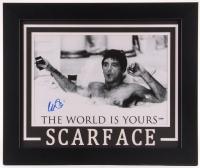 "Al Pacino Signed ""Scarface"" 19.5x23.5 Custom Framed Poster Print (PSA COA)"