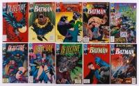 """Lot of (10) Vintage 1992-1993 Batman """"Detective"""" DC Comic Books"""