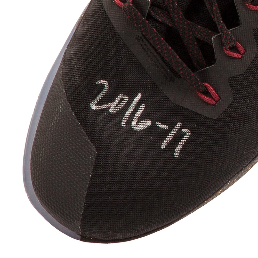 best service 8c340 f5f08 ... Kevin Love Signed 2016-17 Game-Used Limited Edition Nike Basketball Shoes  Inscribed  Kevin Love Auto Game Worn Nike Hyperdunk Shoes Sneakers ...