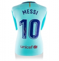 Lionel Messi Signed Barcelona Jersey (Messi COA)